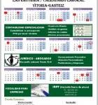 Calendario Laboral 2018 Vitoria Gasteiz Alava KONTA Asesores y Abogados