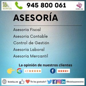 Asesoría Gestoría Vitoria Gasteiz Alava