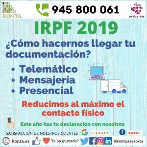 Asesoría Gestoría Vitoria Gasteiz Alava Declaración de la Renta IRPF